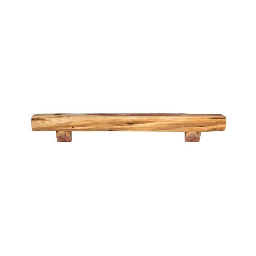 Pearl Mantels 72-in W 12-in H x 8.5-in D Contemporary Fireplace Mantel