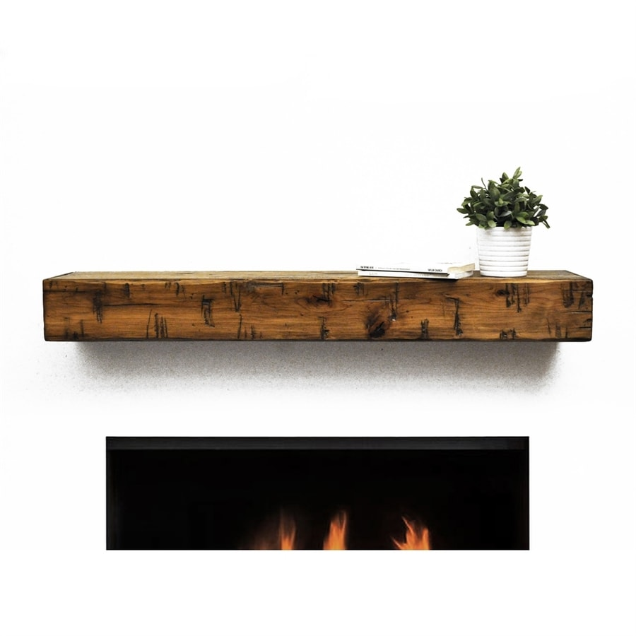 Modern Fireplace Mantel Image 1 Dogberry Collections 48 In W 5 H X 10 D Aged