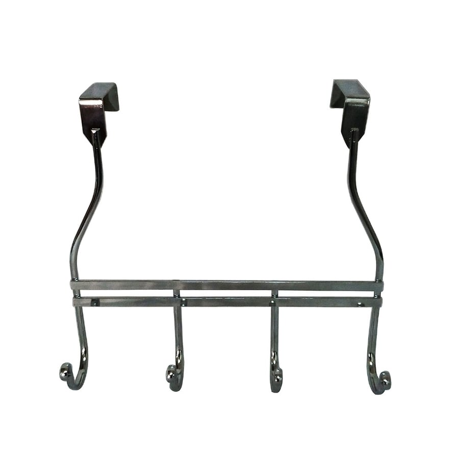 Shop Elegant Home Fashions 10-in H Over The Door Steel Chrome ...