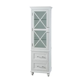 Elegant Home Fashions Owen 18-in W x 60-in H x 14-  sc 1 st  Loweu0027s & Shop Linen Cabinets at Lowes.com