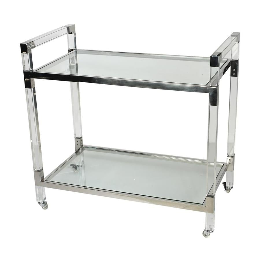 Alera Industrial Kitchen Carts At Lowes Com: Shop A&B Home Chrome Industrial Kitchen Carts At Lowes.com