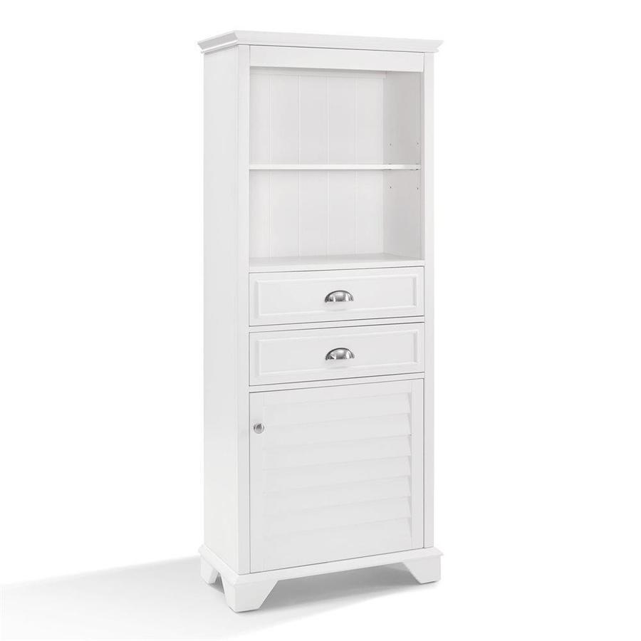 Crosley Furniture Lydia 24 5 In W X 60 In H X 12 5 In D White