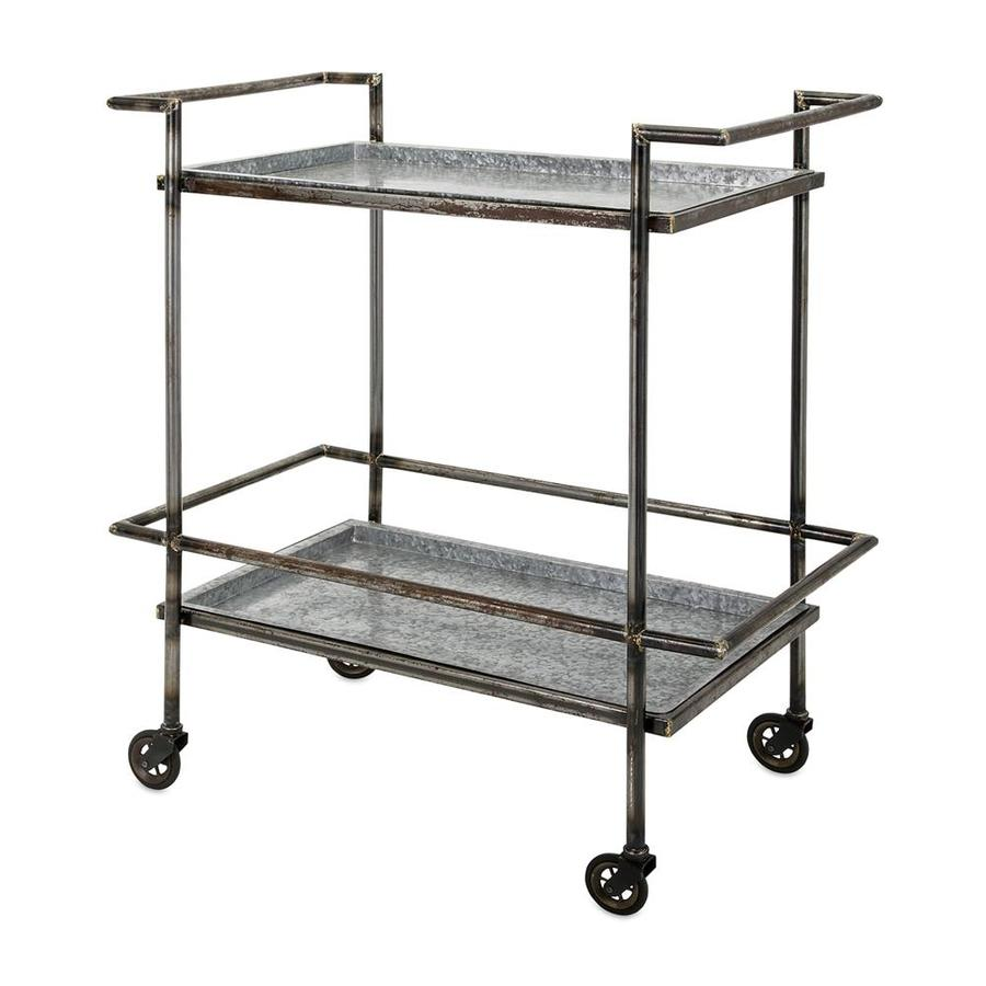 Alera Industrial Kitchen Carts At Lowes Com: Imax Worldwide Gray Industrial Kitchen Cart At Lowes.com