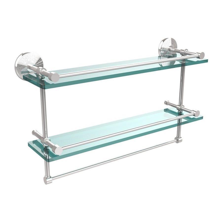 Allied Br Gallery Polished Chrome Gl Bathroom Shelf
