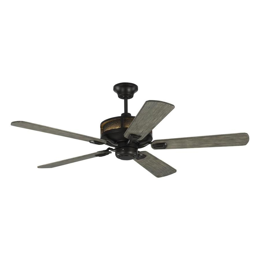 Monte Carlo Fan Company Artizan 56 In Aged Pewter Indoor Outdoor Downrod Mount Ceiling