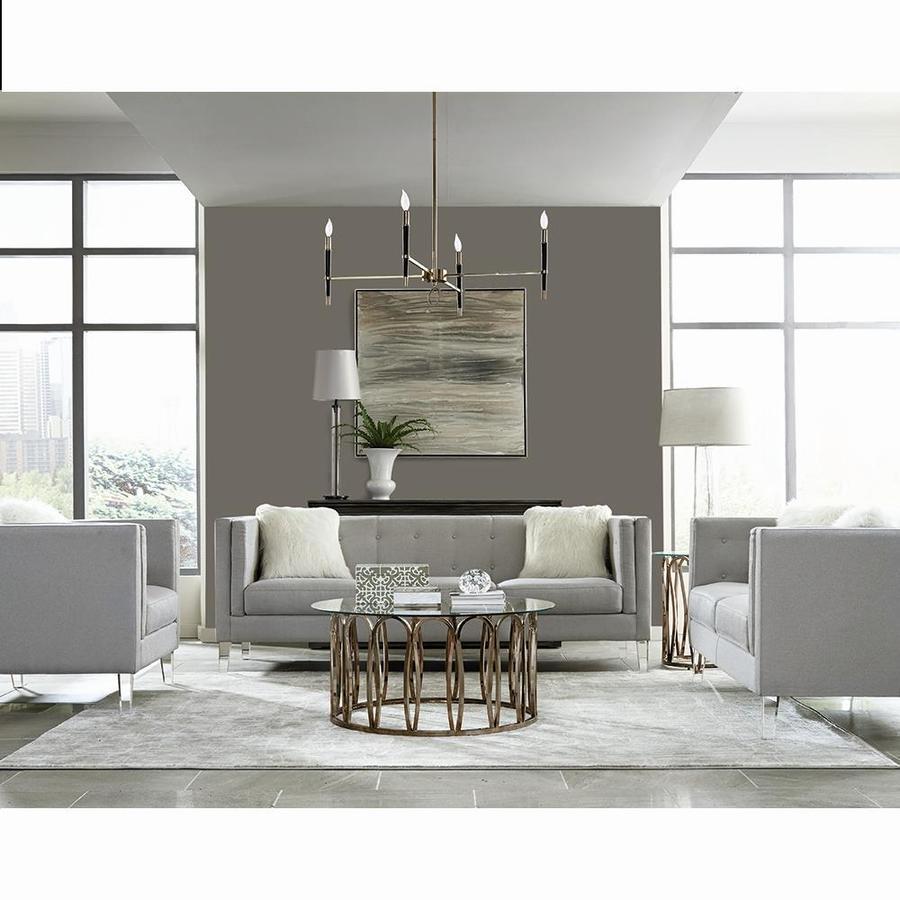 Scott Living 3 Piece Hemet Light Grey Living Room Set In The Living Room Sets Department At Lowes Com