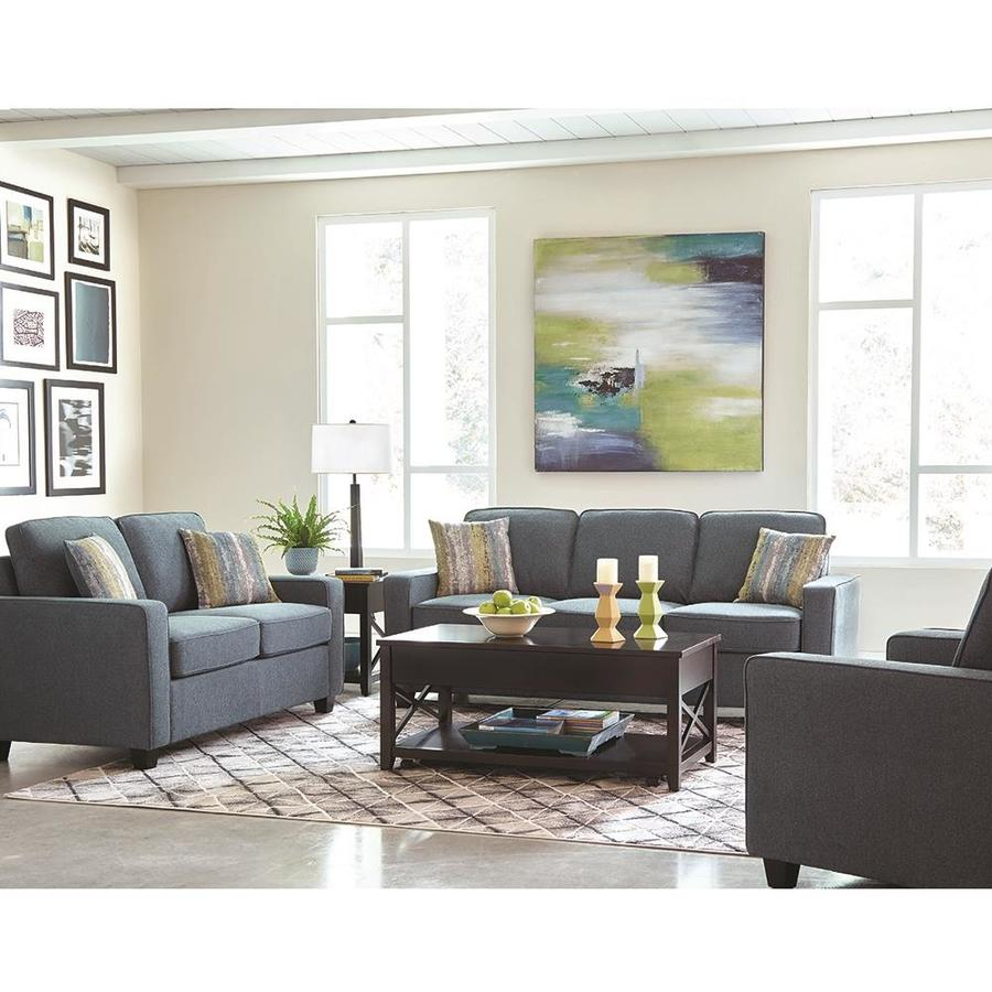 Shop Scott Living 3-Piece Brownswood Atlantic Living Room Set at ...