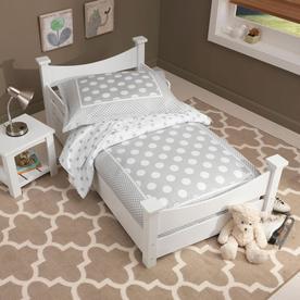 KidKraft Addison White Toddler Bed