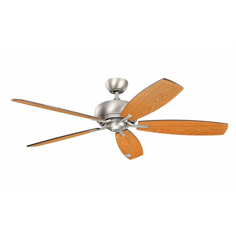 Kichler Whitmore 60 In Brushed Nickel Indoor Ceiling Fan