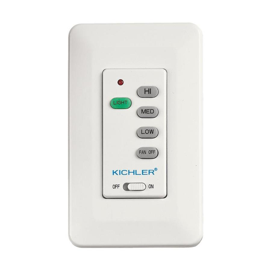 Kichler 3 Setting White Almond Ivory Ceiling Fan Switch At