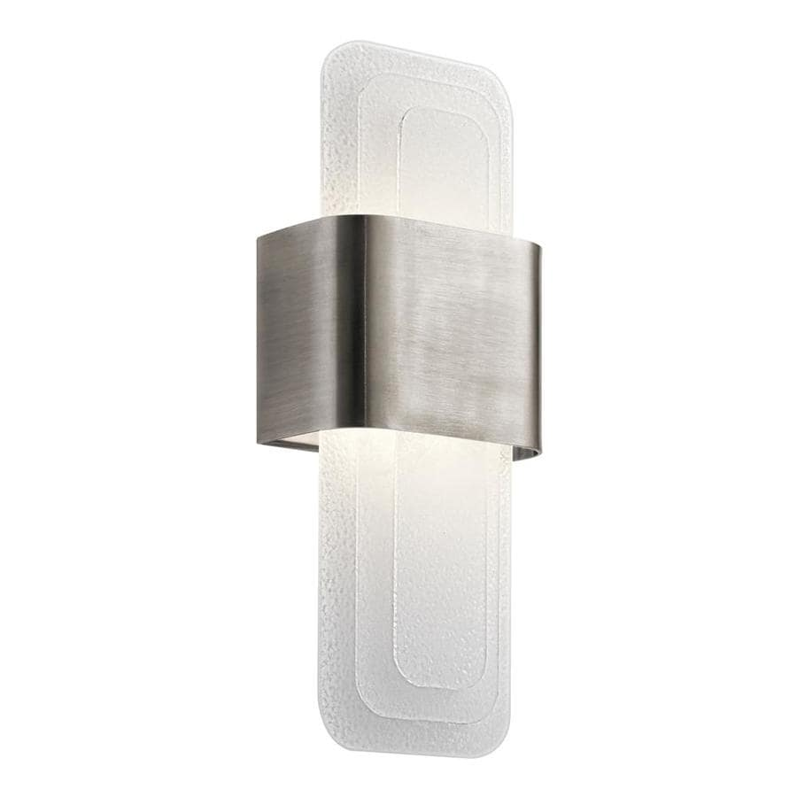 Shop Kichler Serene 65 In W 1 Light Classic Pewter Wall Wash