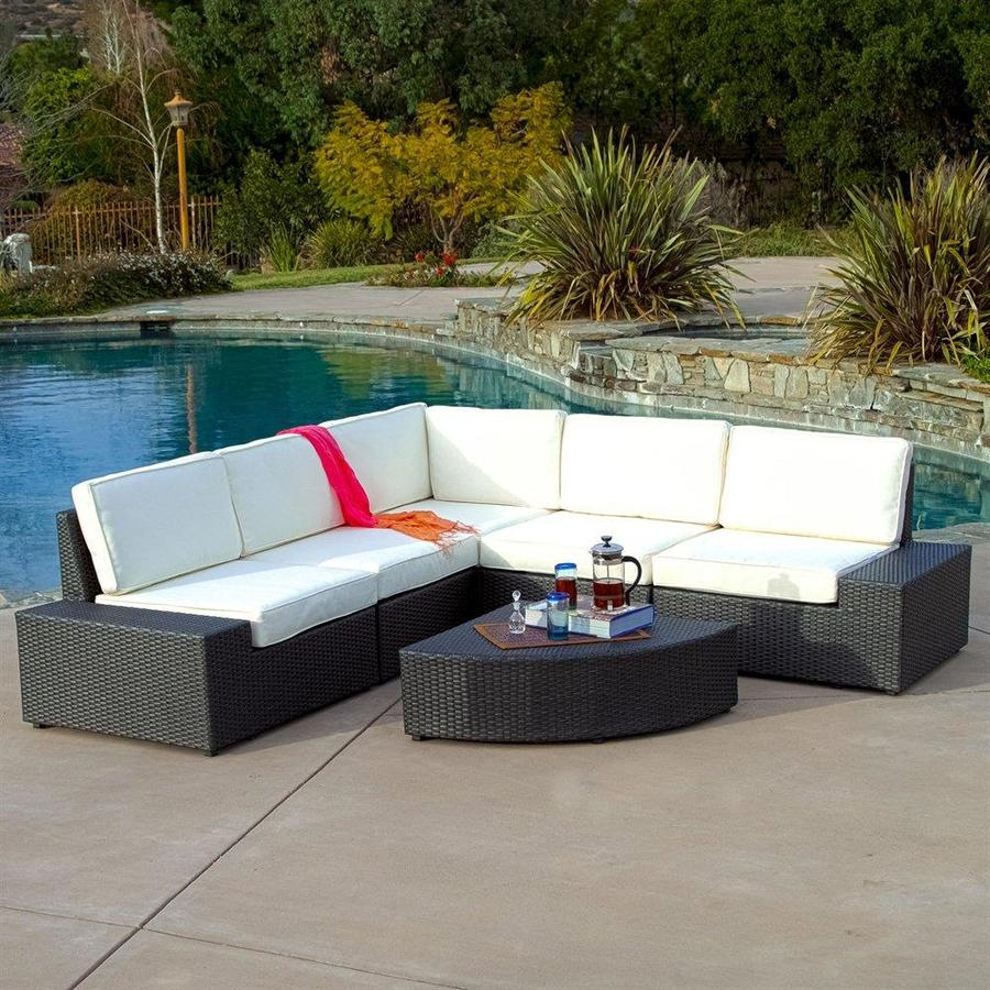 Best Ing Home Decor Santa Cruz Outdoor Sectional Sofa Set