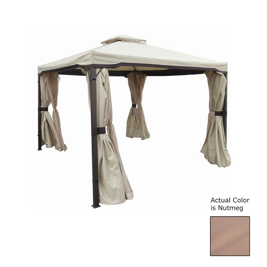 Best Selling Home Decor Nutmeg Fabric Pop-up Gazebo (9.33 W x 9 H - Shop Best Selling Home Decor Nutmeg Fabric Pop-up Gazebo (9.33 W X 9