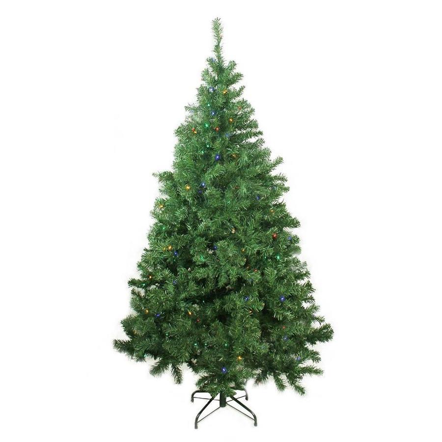 huge discount 4acb1 e2bdb Northlight 6-ft Pre-lit Classic Pine Artificial Christmas ...