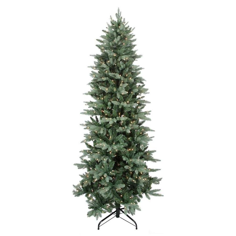 Northlight 10-ft Pre-lit Frasier Fir Slim Artificial ...