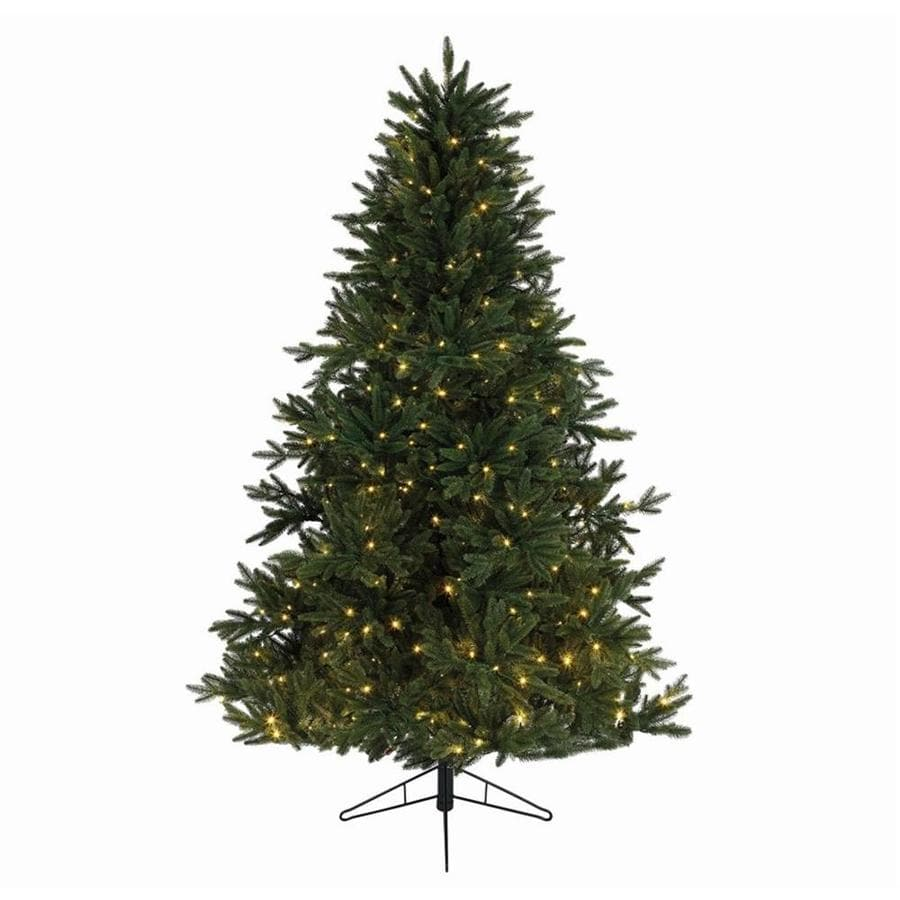 Pre Lit Led Lights Christmas Tree: Northlight 9-ft Pre-lit Artificial Christmas Tree With 672