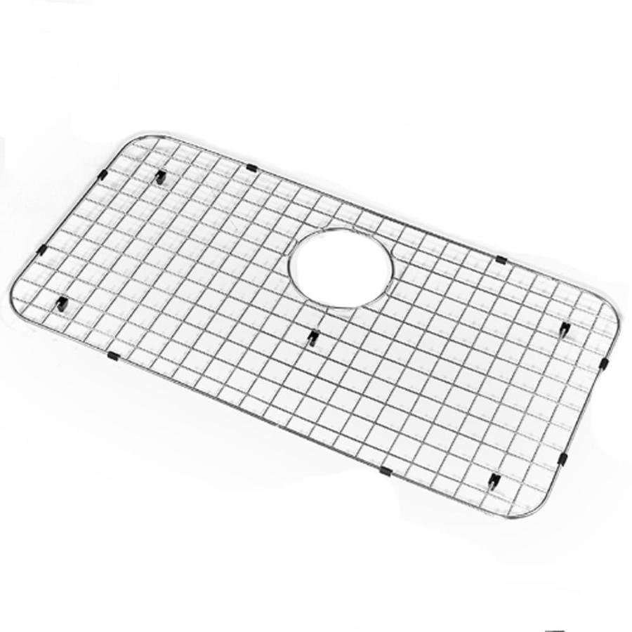 houzer wirecraft bottom grid sink rack at lowes com