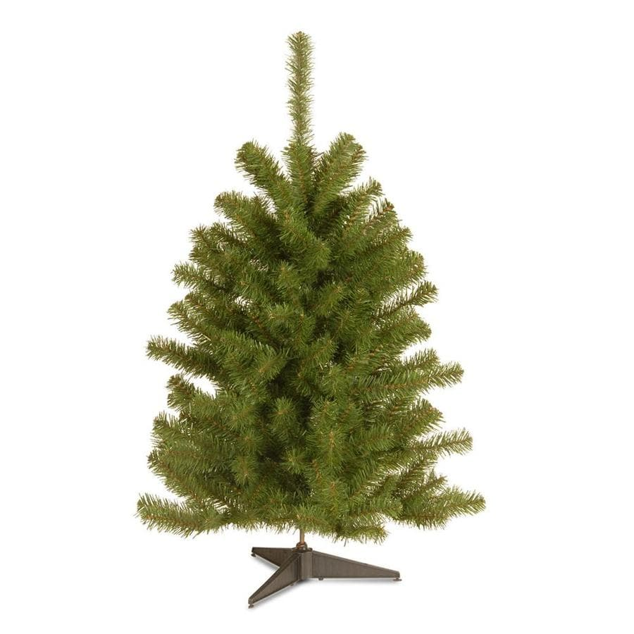 shop national tree company 3 ft spruce artificial christmas tree atnational tree company 3 ft spruce artificial christmas tree