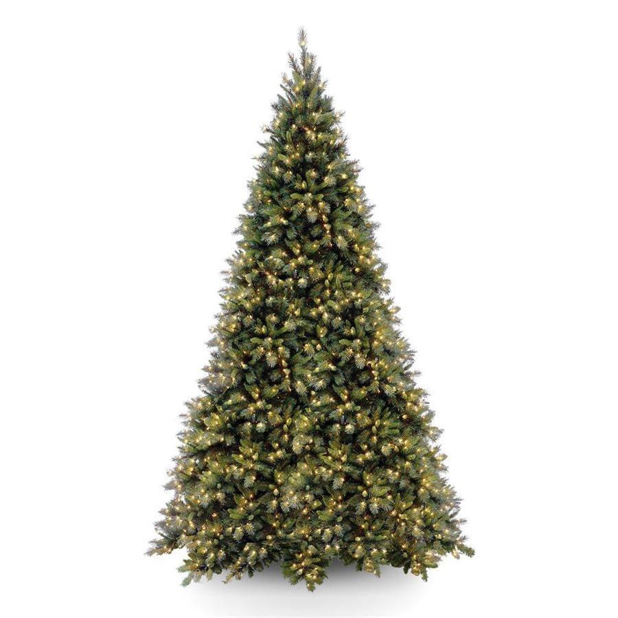 Discount Pre Lit 12 Christmas Tree: National Tree Company 12-ft Pre-lit Artificial Christmas