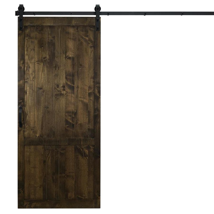 Shop Dogberry Country Vintage Sliding Barn Door At Lowes