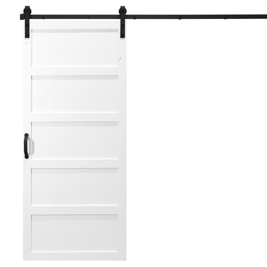 Shop Dogberry 5 Panel Sliding Barn Door At Lowes