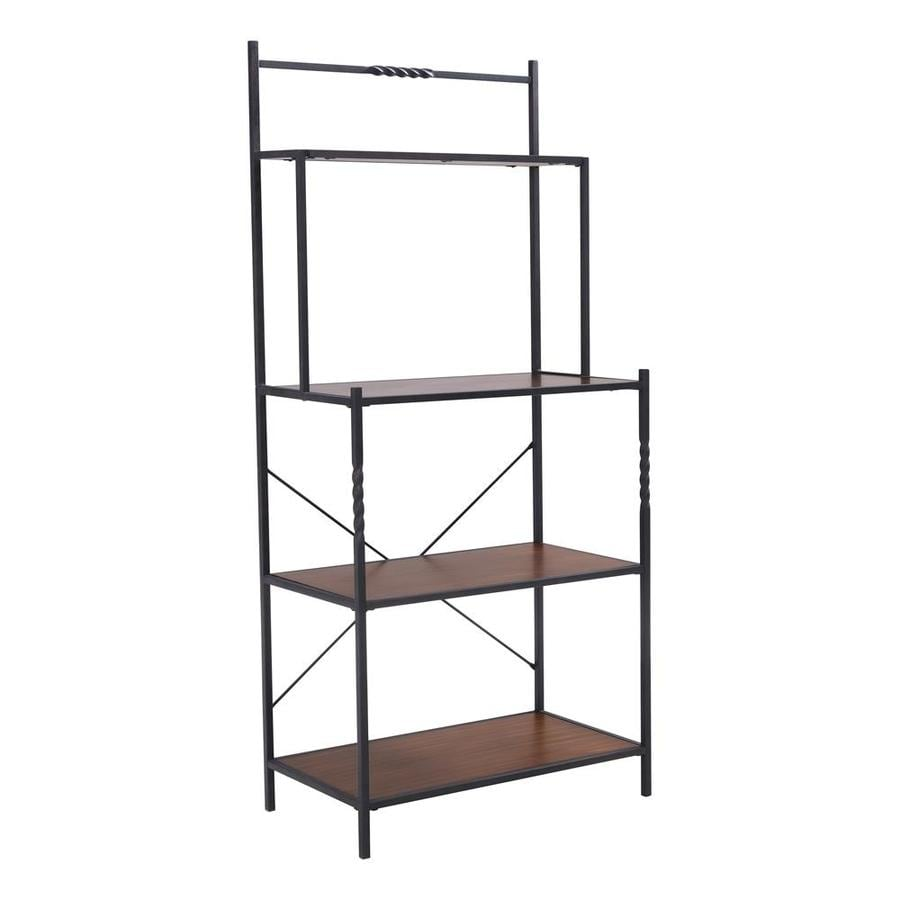Boston Loft Furnishings Dunbar Industrial Style Kitchen: Boston Loft Furnishings Dark Distressed Pine Bakers Rack