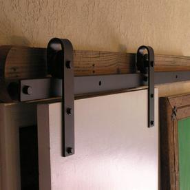Agave Ironworks Basic Flat Track Hardware Kit  Smooth