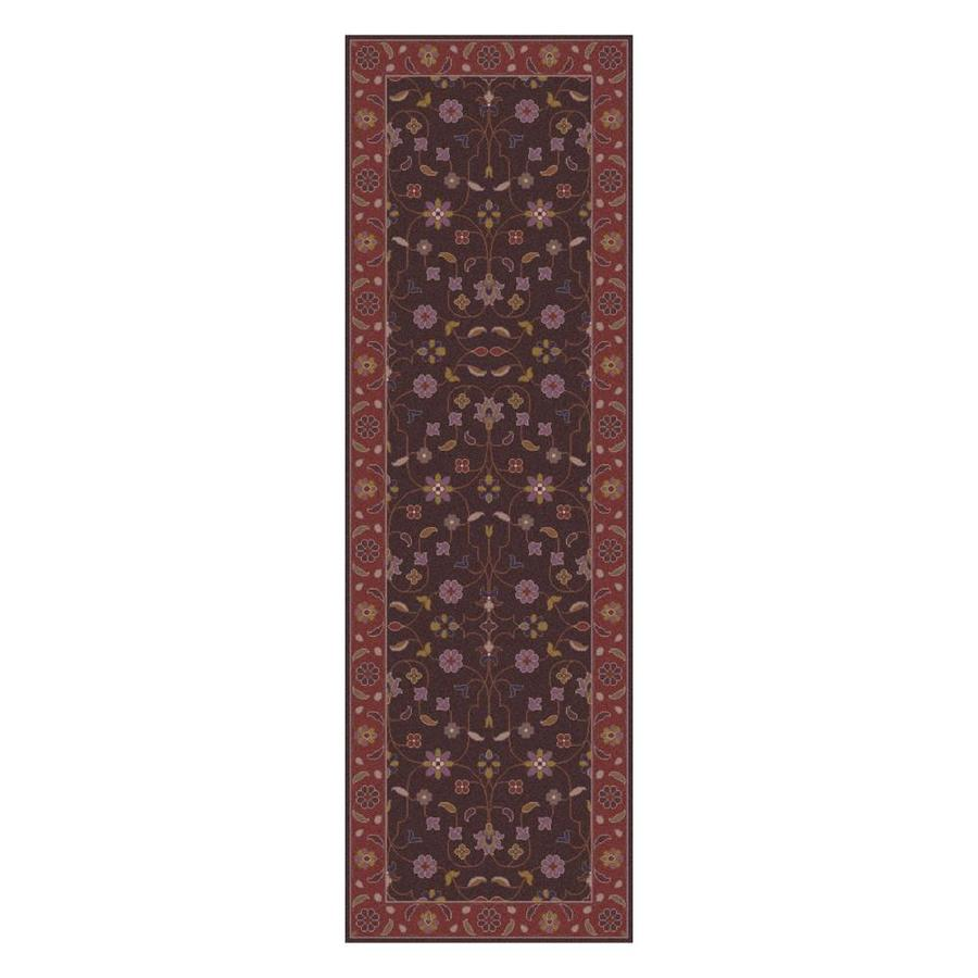 Surya Caesar Dark Purple Dark Brown Indoor Handcrafted Area Rug