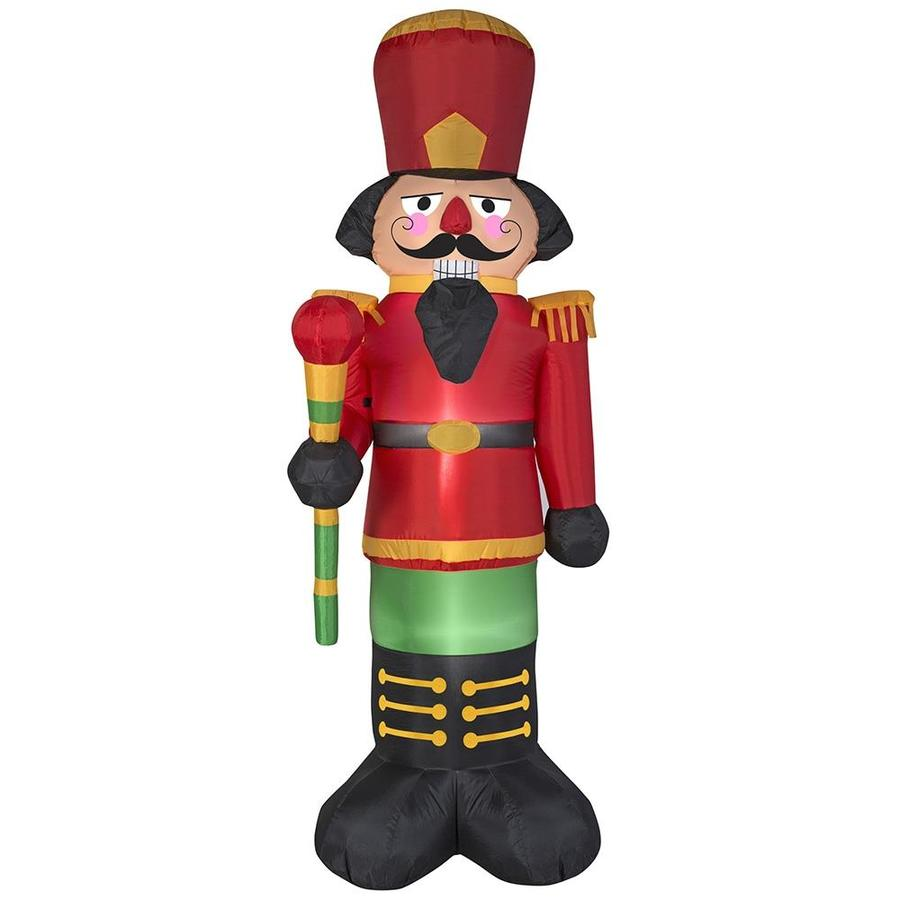 Shop J. Marcus 6.5-ft Lighted Nutcracker Christmas Inflatable at ...