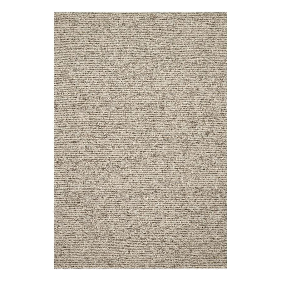 Loloi Klein Sand Gray Indoor Handcrafted Area Rug 3 X 5 Actual