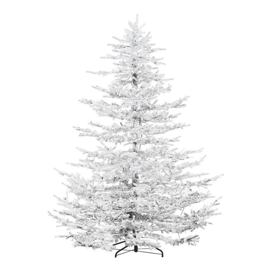 Fraser Hill Farm 9 Ft Pre Lit Arctic Pine Artificial Christmas Tree