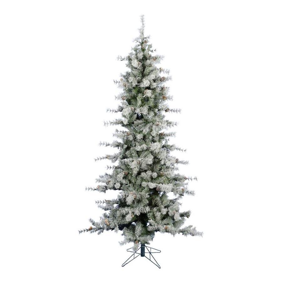 fraser hill farm 9 ft buffalo fir slim artificial christmas tree - 9 Ft Slim Christmas Tree