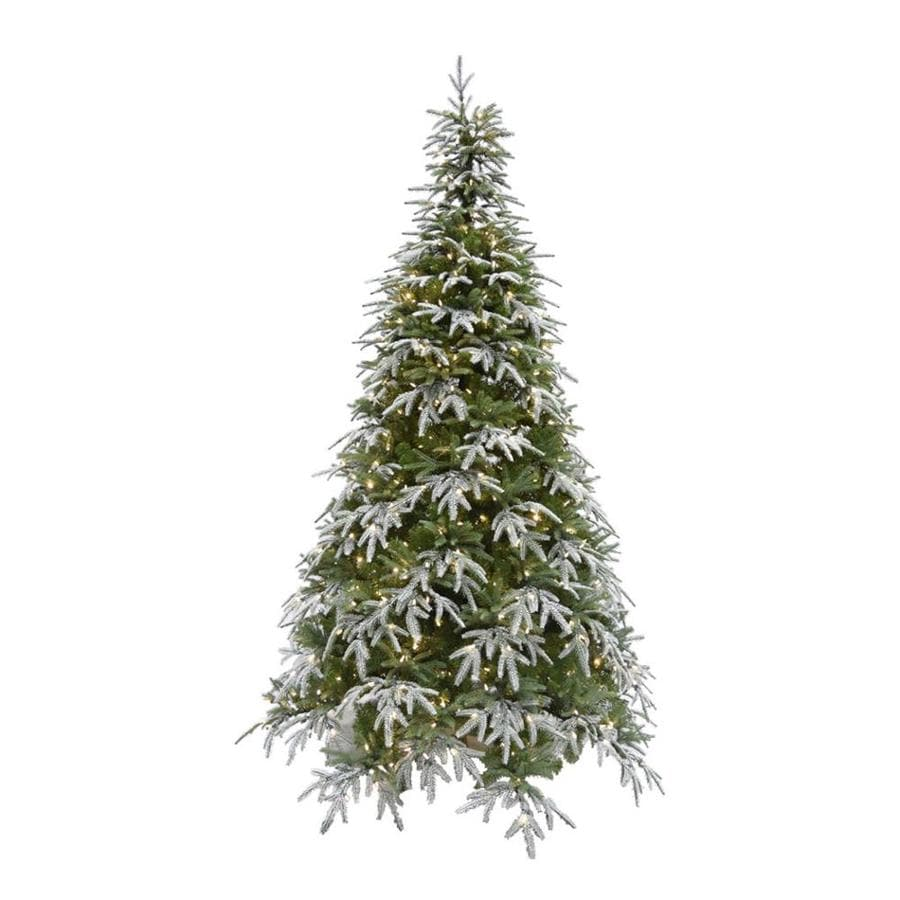 Fraser Hill Farm 9 Ft Pre Lit Artificial Christmas Tree With 1000