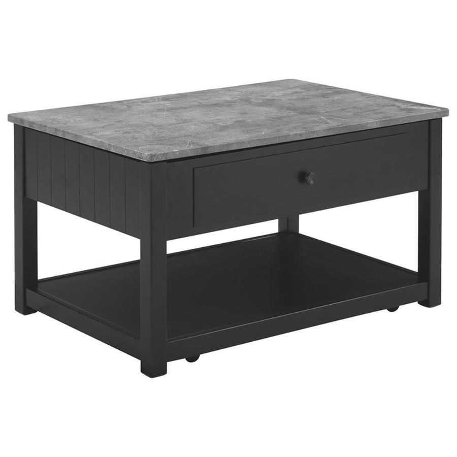 Signature Design By Ashley Ezmonei Faux Marble Coffee Table