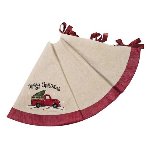 Lowes Christmas Tree Skirts: XIA Home Fashions 56-in Multiple Colors Christmas Tree