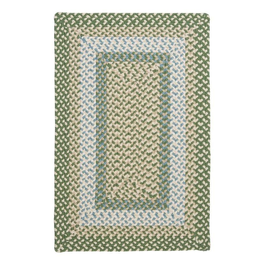 Colonial Mills Montego Lily Pad Green Indoor/Outdoor