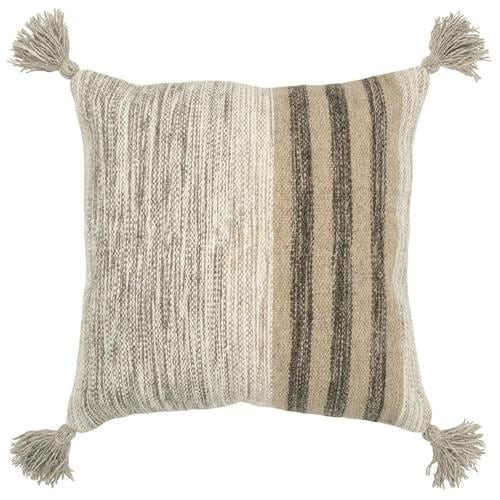 Rizzy Home Helios 20 In W X 20 In L Indoor Decorative Pillow In The Throw Pillows Department At Lowes Com