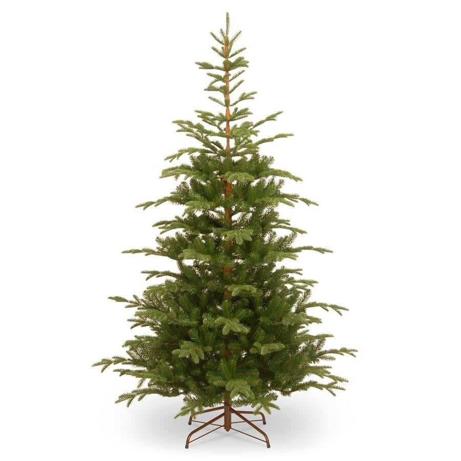 Shop National Tree Company 7.5-ft Norwegian Spruce Artificial ...
