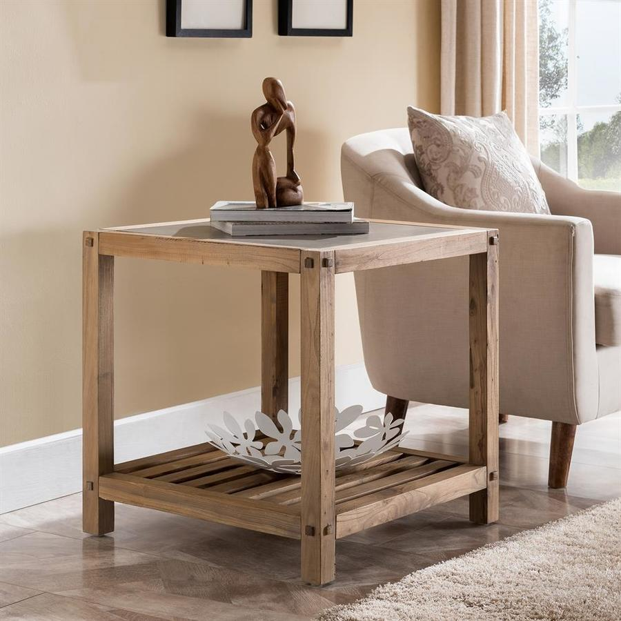 Attrayant Boston Loft Furnishings Clemmens Reclaimed Wood End Table