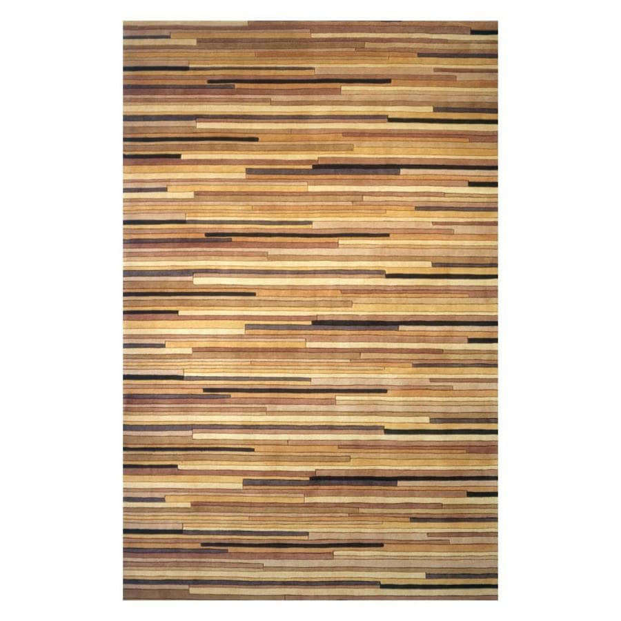 Momeni New Wave Natural Indoor Handcrafted Area Rug Common 2 X 3