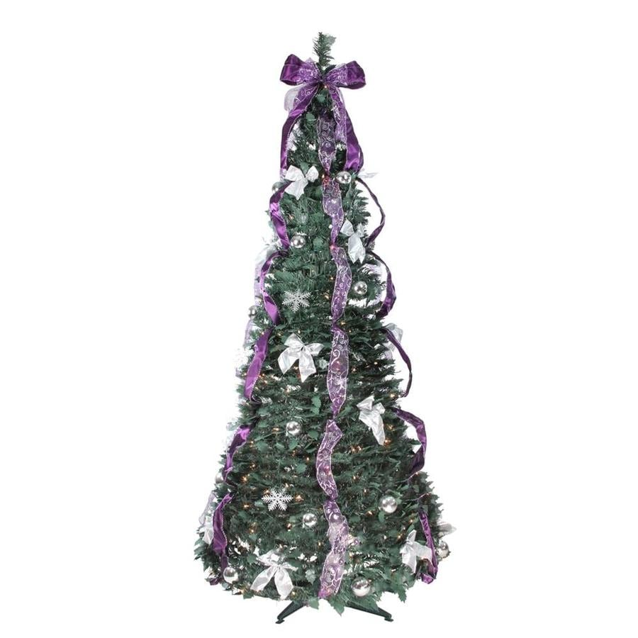 Northlight 6 Ft 350 Light Pop Up Christmas Tree At Lowes Com