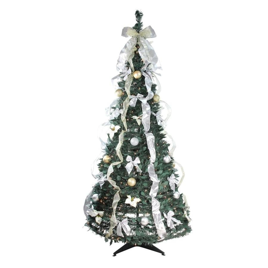 northlight 6 ft pop up christmas tree