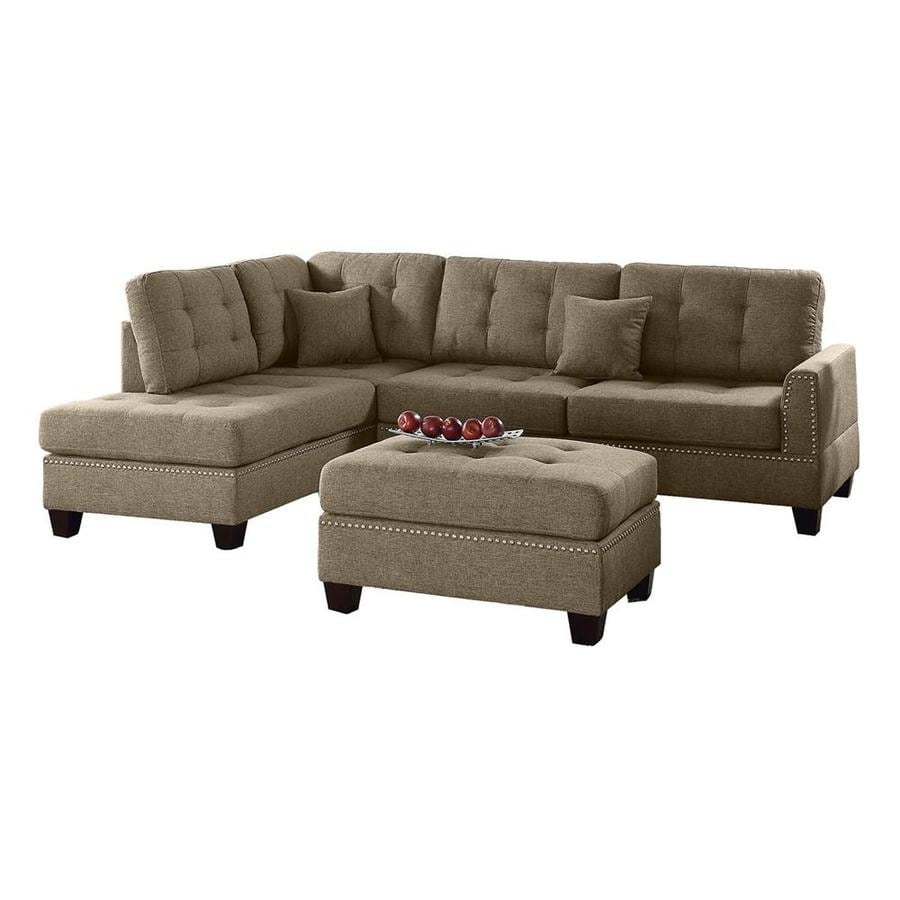 Poundex 3 Piece Coffee Living Room Set
