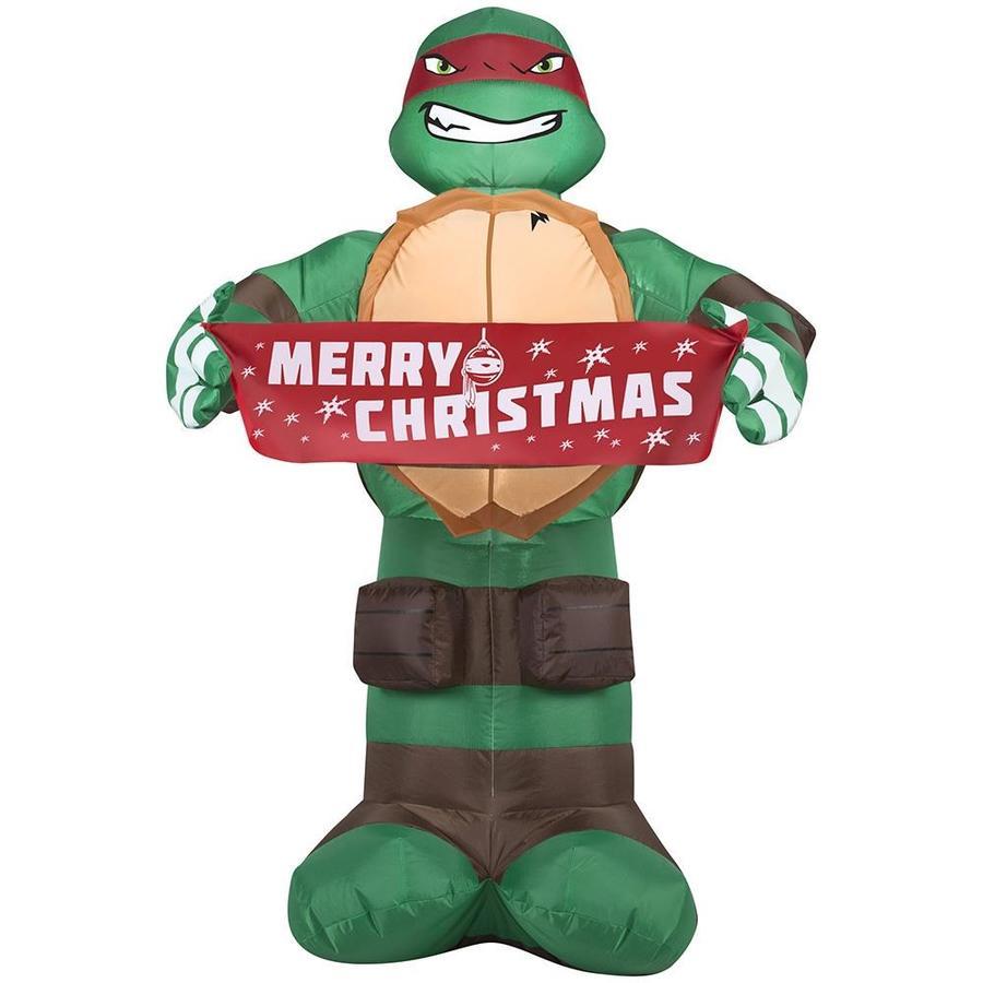 Shop J. Marcus 3.5-ft x 2.25-ft Lighted Teenage Mutant Ninja Turtle ...