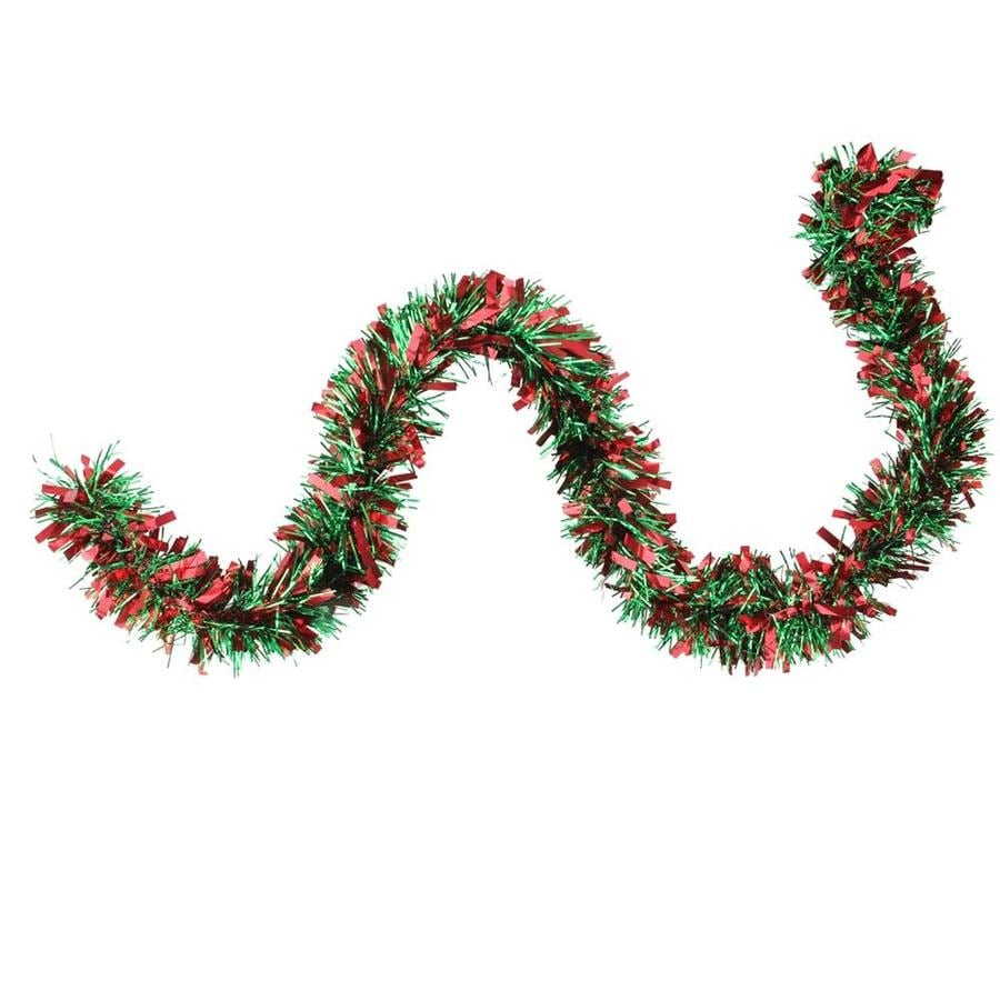 Outdoor Christmas Decorations Clipart: Northlight Indoor/Outdoor 50-ft Tinsel Garland At Lowes.com