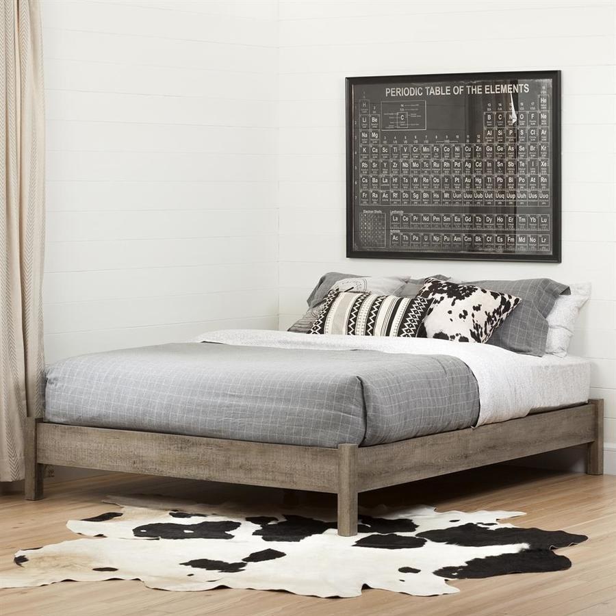 South S Furniture Munich Platform Bed On Legs