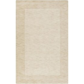 Surya Mystique 5 X 8 Khaki Solid Handcrafted Area Rug In The Rugs Department At Lowes Com