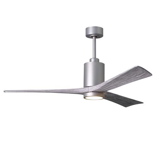 Matthews Fan Company Patricia 60 In Brushed Nickel Led