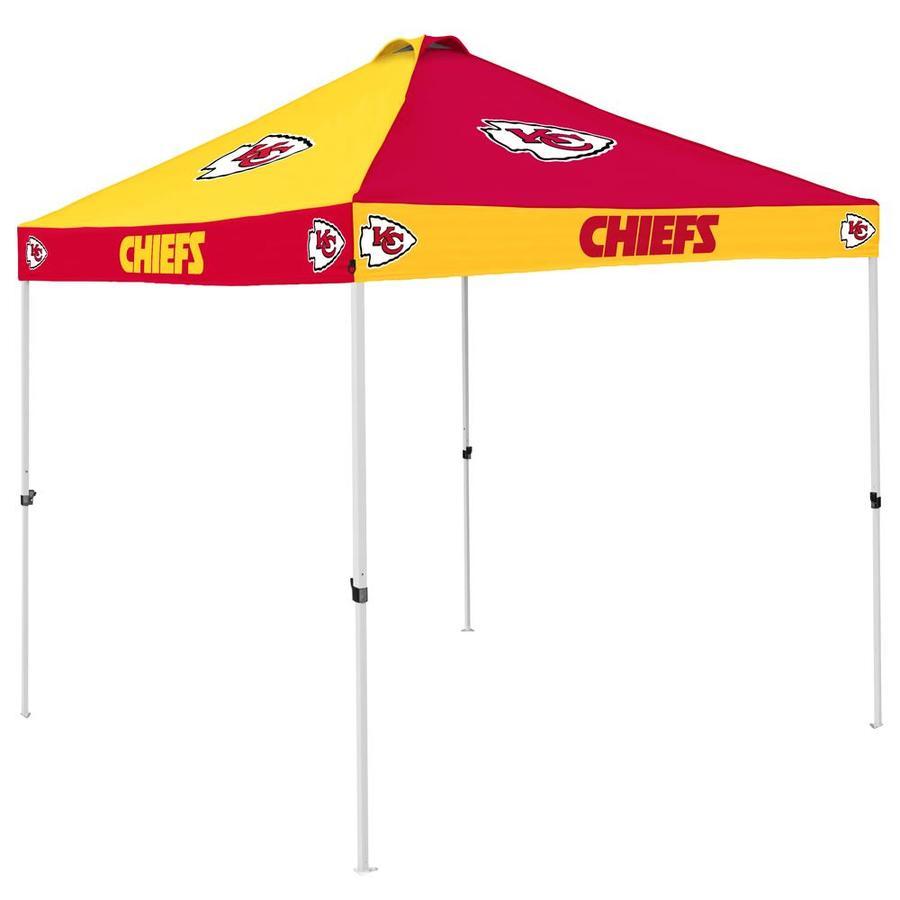 Logo Brands Kansas City Chiefs Checker Canopy At Lowes Com