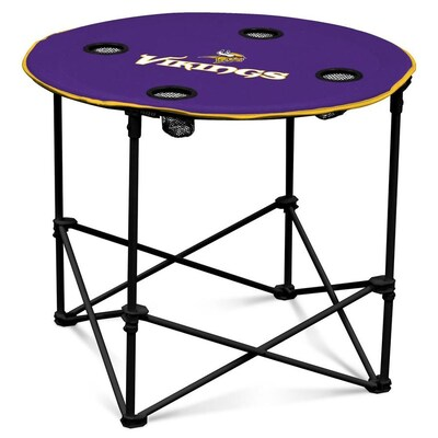 Logo Brands Minnesota Vikings Tailgate Table At Lowes Com